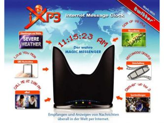 iXP3T Magic Messenger - Empfang von Twitter- und RSS Feeds