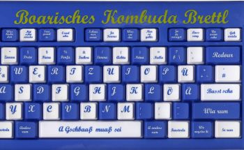 Original Bayerische Computertastatur