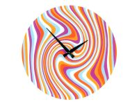 NeXtime Wanduhr Curved Lines